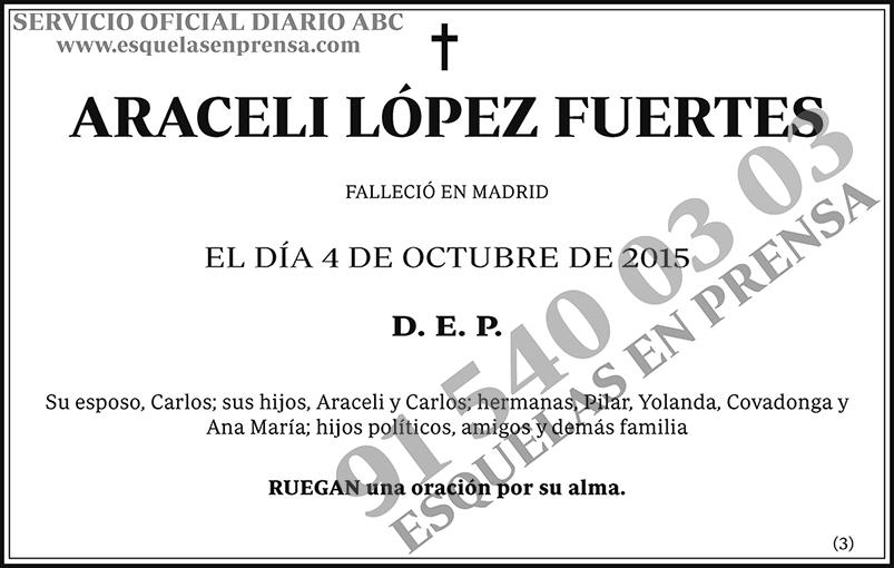 Araceli López Fuertes